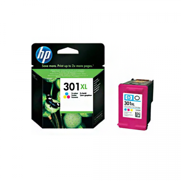 HP 301XL COLOR INK CARTRIDGE CH564EE
