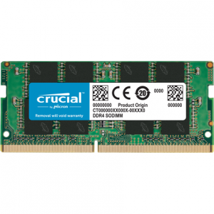 Crucial 4 GB, DDR4, 2666 MHz, Notebook, Registered No, ECC No