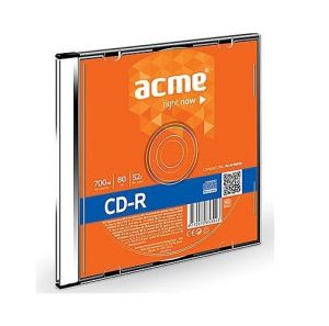 CD-R Acme 0.7GB, 52x, 10Pcs. in Slim Box