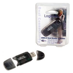 CR0007 Logilink Cardreader USB 2.0 Stick