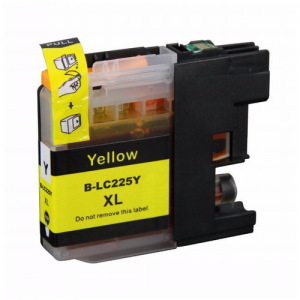 LC225 YELLOW BROTHER COMPATIBLE INK CARTRIDGE