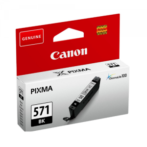 CLI-571BK BLACK CANON INK CARTRIDGE 0385C001