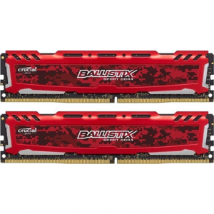 16GB Kit (8GBx2), DDR4, 3000MHz, Crucial, PC/server, Reg No, ECC No, BLS2K8G4D30AESEK