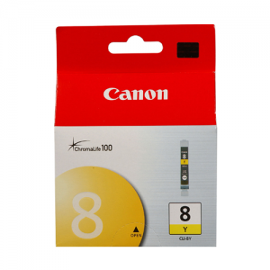 CLI-8Y YELLOW CANON INK CARTRIDGE 0623B001