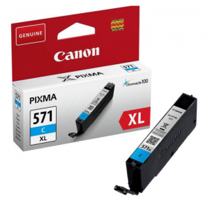 CLI-571XL CYAN CANON INK CARTRIDGE 0332C001