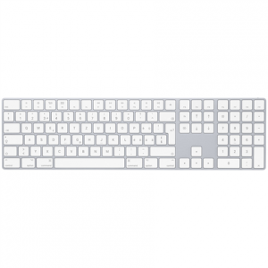 Apple Magic Keyboard - Keyboard - Bluetooth - Swedish - for 10.2-inch iPad; 10.5-inch iPad Air; iPad mini 5; iPhone 11, XR, XS, XS Max