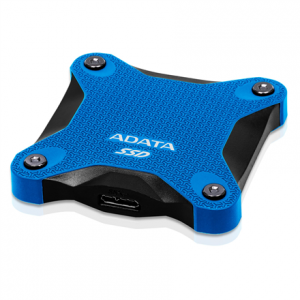 240GB ADATA ASD600Q-240GU31-CBL External SSD, USB 3.1, Blue