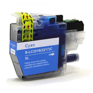 LC3219XL CYAN BROTHER COMPATIBLE INK CARTRIDGE